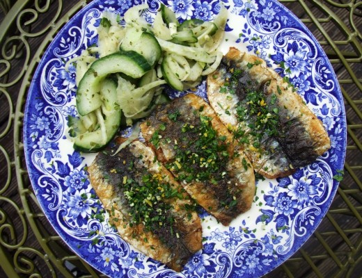 Sardines with Gremolata