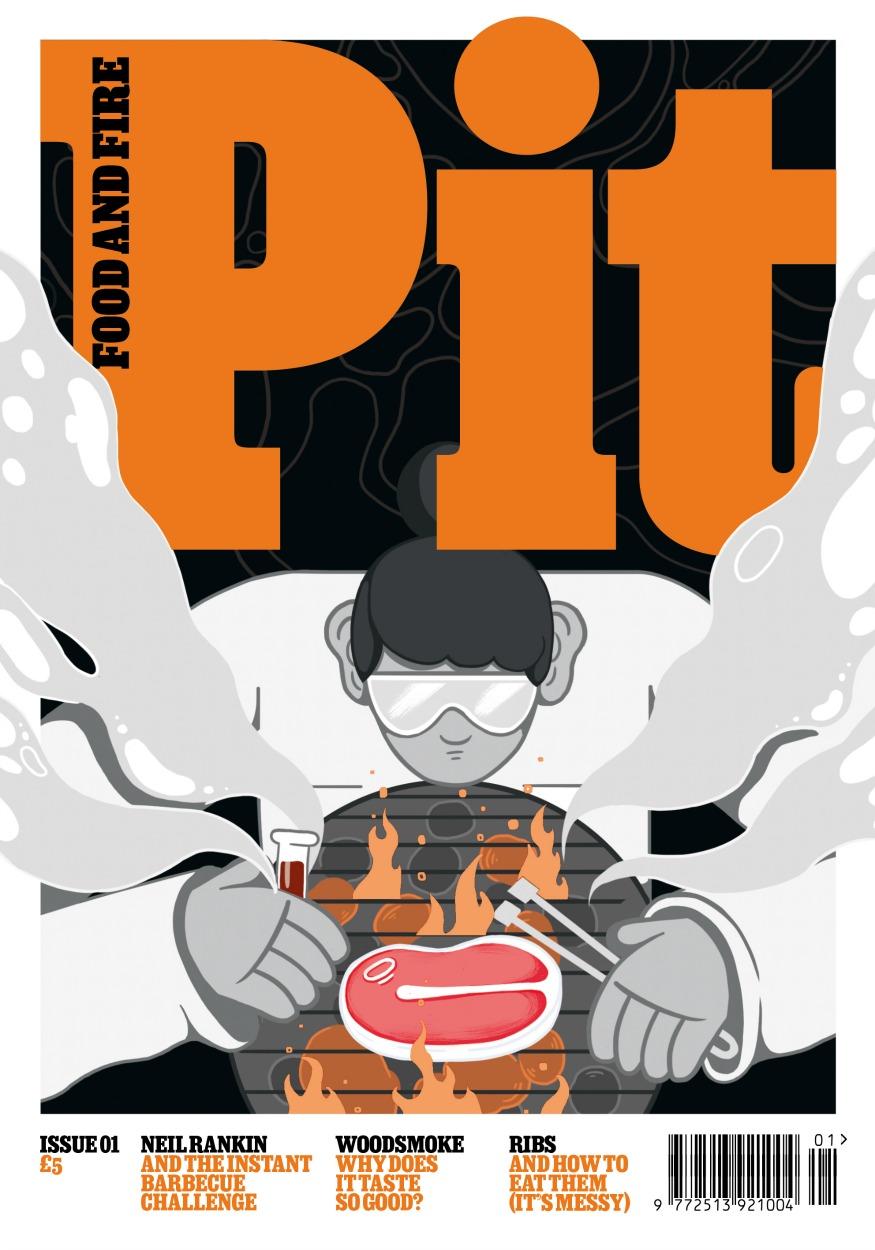 Pit Magazine cover