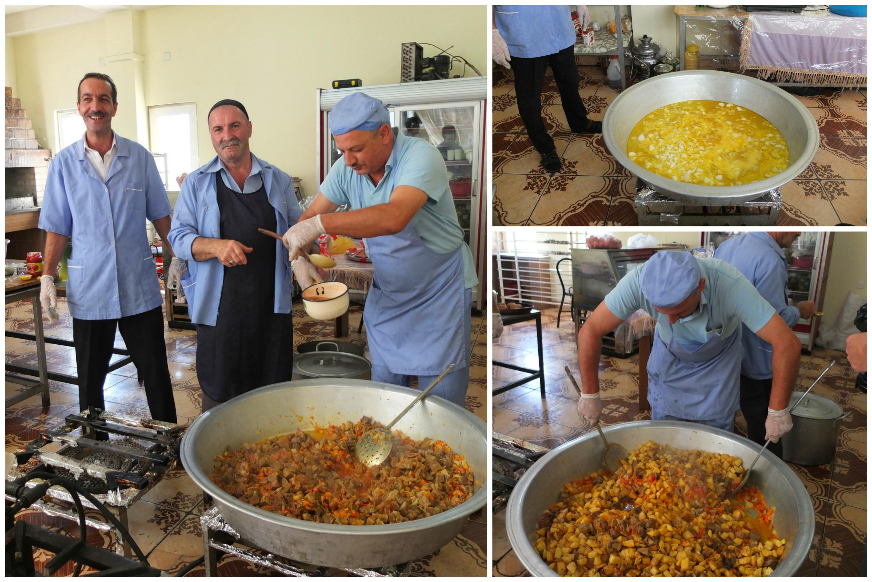 Kitchen in Azerbaijan